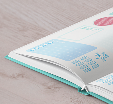 Beautifully designed pages